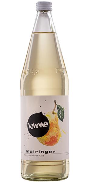 Flasche Birnensaft